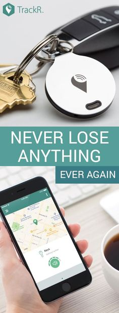 Attach TrackR bravo to your items then find them with your smartphone. Never lose anything again. Buy 3 and get 2 free!