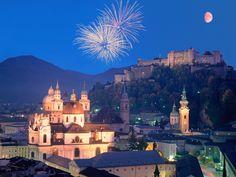 Salzburg, Austria (my honeymoon trip)