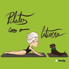 Pilates com Catiorro