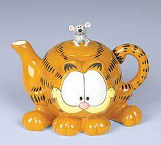 Ceramic Garfield Collectable Teapot by Jane Bernard