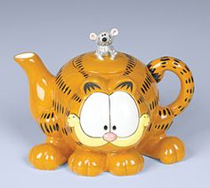Ceramic Garfield Collectable Teapot by Jane Bernard
