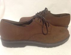 Dockers Mens Brown Dress Shoes Size 13 #Dockers #Oxfords