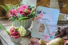 Caixa Rústica: Convite Love Bird 2.0  ▫️ Inove com a Caixa Rústica e surpreenda convidados!  ∴ Solicite seu orçamento! www.caixarustica.com  #convite #kraft #casamento #rustico #invitation #rustic #wedding #papelaria #vintage #reciclado #floral #boho #mint #limpet #blush #peach