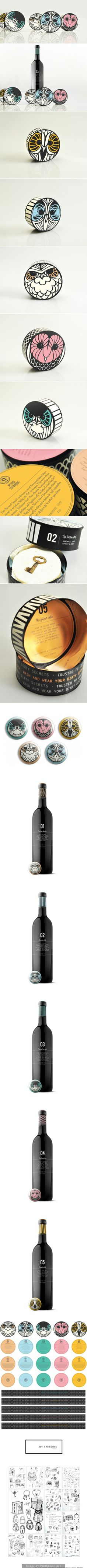 Unusual #packaging #designs for collectibles curated by Packaging Diva PD - created via http://www.packageinspiration.com/hushh-stewards.html/