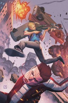 Archer and Armstrong #18 by Jorge Molina *