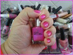 Inventando com a mamãe: Blogagem Coletiva: Esmalte + Maquiagem
