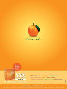 XXX Condoms - Orange