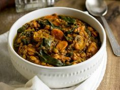 Spinach and Lentil Stew - eathealthyeathappy.com