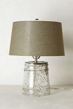 Sand-Speckled Lamp Ensemble #anthropologie