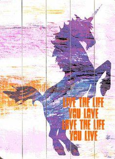 Live the Life Wall Decor
