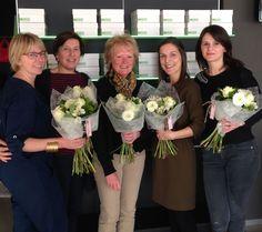 Onze vrouwelijke medewerkers zetten we graag eens extra in de bloemetjes #secretaressedag