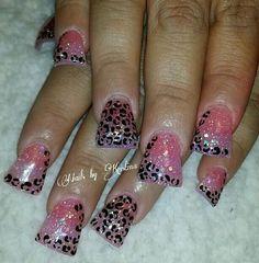 Cute duck feet nails, nail art. | flare tip nails | fan nails wide | decorado de unas