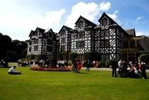 Gregynog Hall, Wales is without doubt the most romantic of locations, laced with symbolism from the times of the Princes' of Wales and cultural significance.
