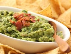 Recipe To The Delicious Roasted Garlic And Bacon Guacamole At Home