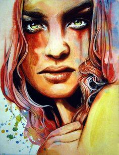 Erubescent Art Print, Olga Noes