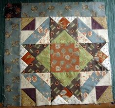 I like this quilt block.