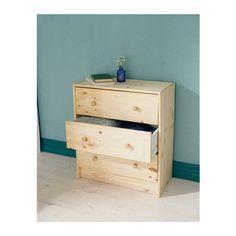 RAST Chest of 3 drawers 30x62x70 - IKEA £20