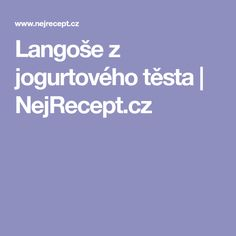 Langoše z jogurtového těsta | NejRecept.cz