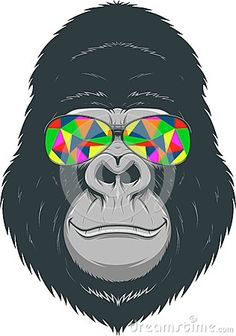 monkey with sunglasses - Google Search