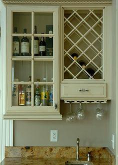 Bar cabintery design idea