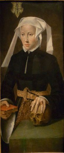 A Woman, ca. 1564  (Bartholomaus Bruyn the Younger) (1530-1610)  Ruhrmuseum, Zollverein in Essen
