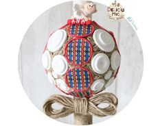 Lumanare de botez cu motive tricolore Romanesti  insertii din sfoara iuta: http://ift.tt/25qGoWu - http://ift.tt/1ipRjKg -