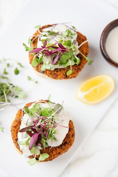 veggie sliders with