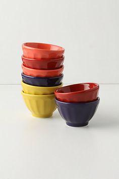 Mini Latte Bowls #anthropologie