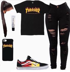 baddie outfits for school Baddie Outfits Casual, Boujee Outfits, Swag Outfits For Girls, Cute Swag Outfits, Teenage Girl Outfits, Cute Comfy Outfits, Teen Fashion Outfits, Stylish Outfits, Jordan Outfits