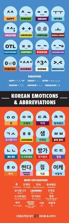 Korean Emoticons
