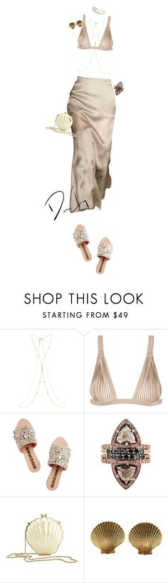 """""""Untitled #81"""" by bydhoney ❤ liked on Polyvore featuring Accessorize, La Perla, Rochas, Reiss, Yves Saint Laurent and ASOS"""