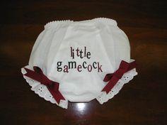 South Carolina Gamecock  custom baby by CustomDesignsbyLin on Etsy, $12.50
