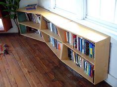 Topograph Bookshelf by Justin Richards w/ nodesign, LLC