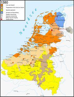Tachtigjarigeoorlog-1580 - Unie van Utrecht (1579) - Wikipedia