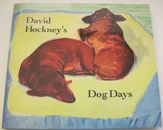 My little dachshund mix blogs on Fridays -- she has a new post up about this lovely dachshund book. View from the Birdhouse: Dear Abby: David Hockney's Dog Days