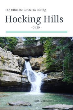 The Ultimate Hiking Guide for HOCKING HILLS STATE PARK. See waterfalls, caves and more! Get all the information you need for an amazing hiking adventure at this Ohio state park! Ohio Hiking, Hiking Trails, Yellowstone National Park, National Parks, Ohio Waterfalls, Wisconsin, Alabama, Ohio Destinations, Minnesota