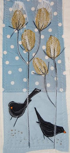 blackbirds by jantze tullett, via Flickr