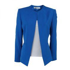 chaqueta azul pink ocean para una look elegante y femenino moda mujer