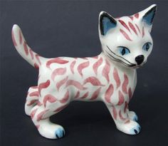 VINTAGE BRITISH POTTERY CAT