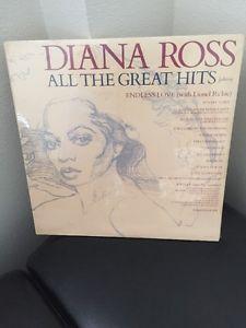 Diana Ross All The Greatest Hits Vinyl Double LP | eBay
