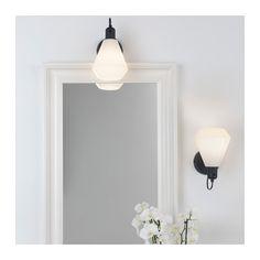 ÄLVÄNGEN Wall lamp, hardwire installation, white - white
