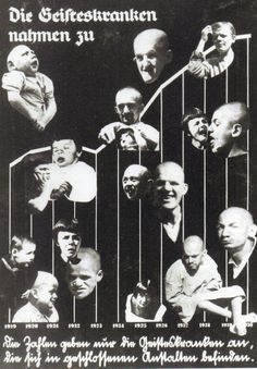 Wanderausstellung, Blut und Rasse 1936.