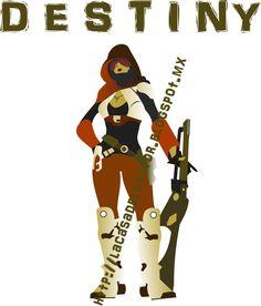 Destiny es un Videojuego de disparos en primera persona , en forma de multijugador masivo en línea en  un Mundo Abierto de ficción especulativa.