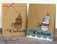 Judy's Card Corner: Holiday Coffee Lovers Blog Hop & Blog Candy!