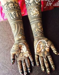 Browse the latest Mehndi Designs Ideas and images for brides online on HappyShappy! We have huge collection of Mehandi Designs for hands and legs, find and save your favorite Mehendi Design images. Dulhan Mehndi Designs, Mehandi Designs, Engagement Mehndi Designs, Latest Bridal Mehndi Designs, Mehndi Designs 2018, Modern Mehndi Designs, Wedding Mehndi Designs, Mehndi Design Pictures, Beautiful Mehndi Design