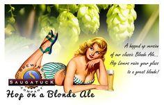 Saugatuck Brewing - Hop on a Blonde Ale.