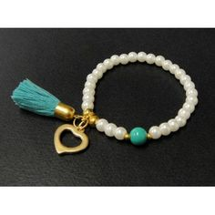 a good small circular new white and turquoise gold and precious stones bracelet