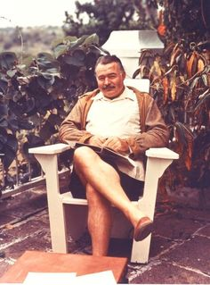 "Hemingway reads.  theparisreview:    More than two thousand papers and other materials from Ernest Hemingway's Havana estate, Finca Vigia, are being transferred to the Library of Congress. These will include passports showing Hemingway's travels and letters commenting on such works as ""The Old Man and the Sea.""For more of this morning's roundup, click here."