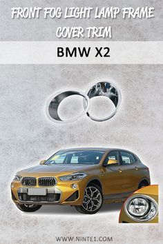Car accessories for BMW Front Fog Light Lamp Frame Cover Trim. Must have car customization and decoration accessories. Put it on your car essentials list. A breathe of fresh air for your BMW Maserati Ghibli, Bmw I8, Must Have Car Accessories, Porsche 718, Chrome Cars, Car Essentials, Car Repair Service, Diesel Cars, How To Remove Rust