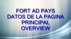 Fort Ad Pays-Overview|Datos de la pagina principal